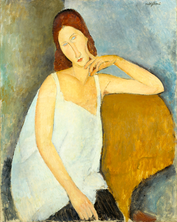 Amedeo Modigliani, Jeanne Hébuterne 1919. The Metropolitan Museum of Art, New York.